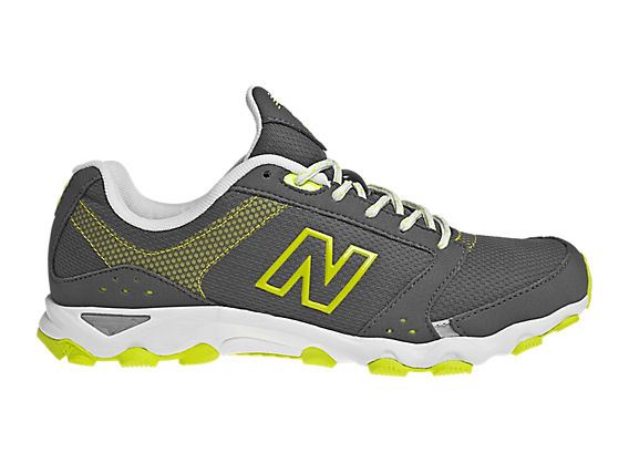 New Balance 661, Grey with Neon Yellow