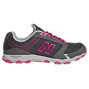 New Balance 661, Grey with Dark Grey & Diva Pink