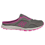 New Balance 692, Dark Heather Grey with Pink Shock