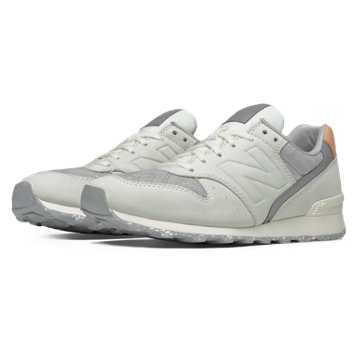 New Balance 696 NB Grey, Sea Salt with Silver Mink
