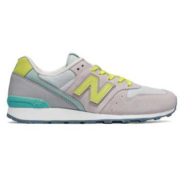 New Balance 696 New Balance, Nimbus Cloud with Firefly & Aquarius