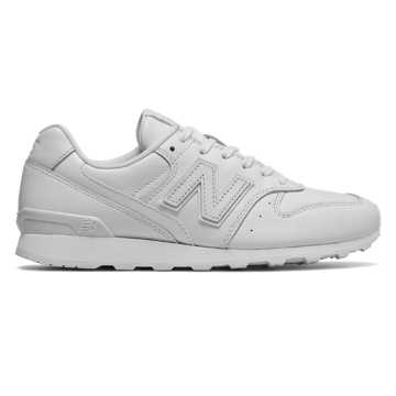 New Balance 696 Leather, White