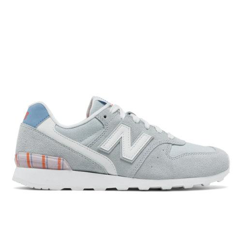 696 New Balance Women's Running Classics Shoes - Blue/White (WL696OSC)