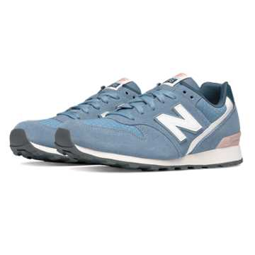 New Balance 696 Summer Utility, Icarus Blue with Shell Pink
