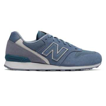New Balance 696 Winter Seaside, Blue Rain with Steel