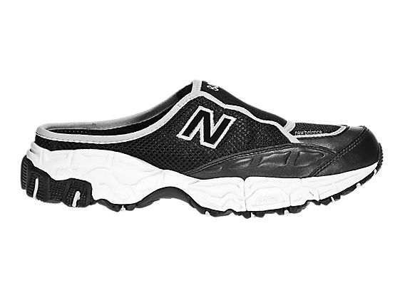 New Balance 801, Black with Grey