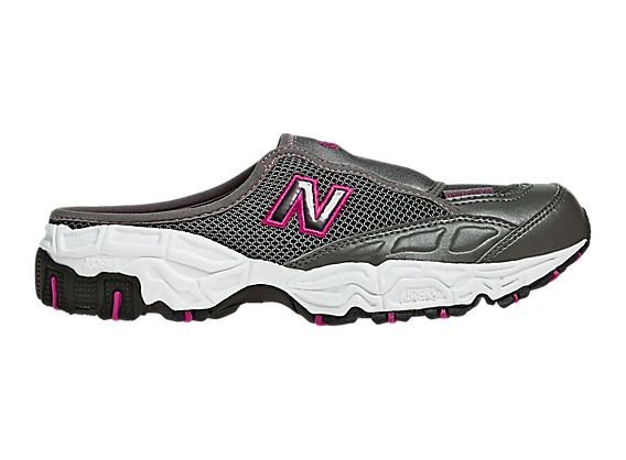 New Balance 801, Grey with Pink