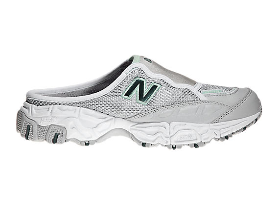 New Balance 801, Silver with Green