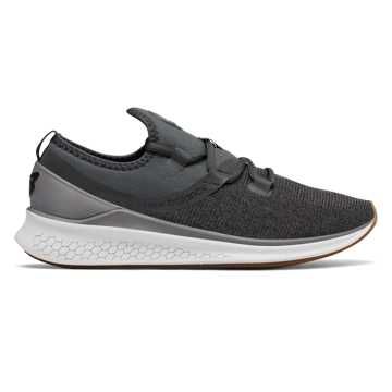 Fresh Foam Lazr v1 Heathered , Black with Nimbus Cloud