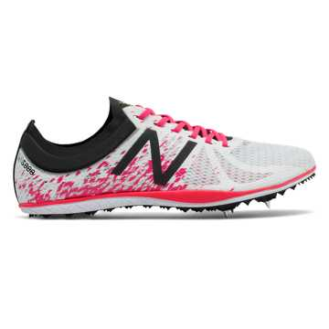 New Balance LD5000v4 Spike, White with Pink