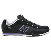 New Balance 442, Black with Purple
