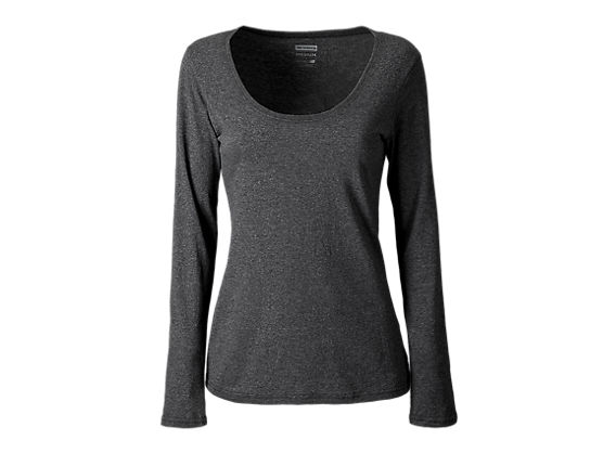 Long Sleeve Top, Black