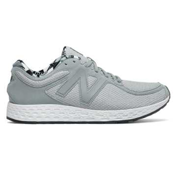 New Balance Fresh Foam Zante v2, Silver Mink with Black