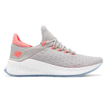 Women's Fresh Foam LazrV2 HypoKnit, Rain Cloud with Guava