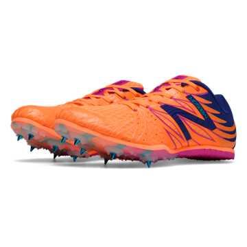 New Balance MD500v4 Spike, Orange with Black & Pink Glo
