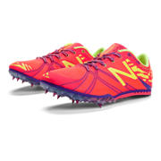 New Balance MD500v3 Spike, Diva Pink with Yellow & Purple
