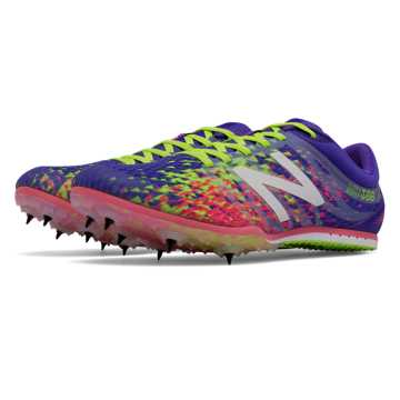 New Balance MD500v5 Spike, Purple with Firefly & Guava