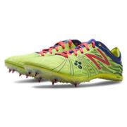 MD800v3 Spike, Neon Yellow with Purple & Race Red