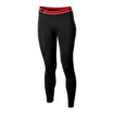 Base Layer Legging, Black with Red