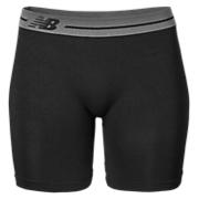 Base Layer Short, Black with Grey