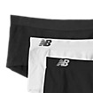 Seamless Boy Short (3 pack), Raven with Black & White
