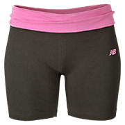 After Workout Short, Grey with Pink