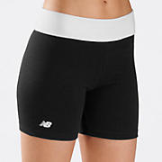 After Workout Short, Black with White