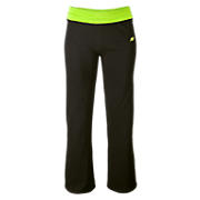 After Workout Pant, Black with Lime