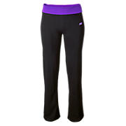 After Workout Pant, Black with Purple