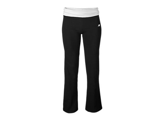 After Workout Pant, Black with White
