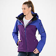 New Balance Snow Cheater Jacket, Azurite with Acai & Grape Juice