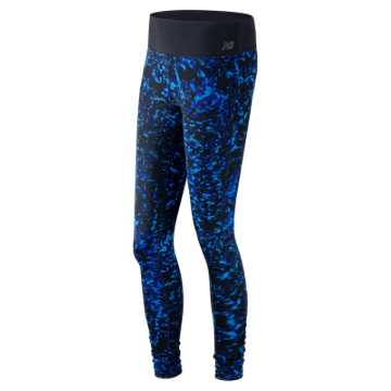 New Balance Printed Performance Tight, Sonar Multi