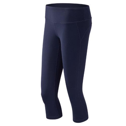 New Balance J.Crew Premium Capri Girl's All Clothing - WP63149NV