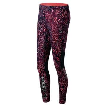 New Balance HOCR Printed Impact Tight, Guava Print