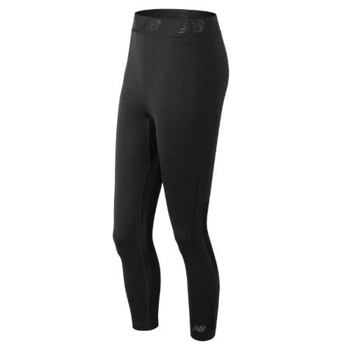 New Balance M4M Seamless Breathe Capri Girl's All Clothing - WP71110BK