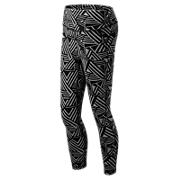 High Rise Transform Printed Crop, Athletic Grey with Black