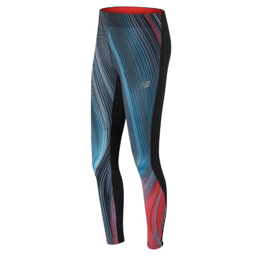 New Balance Impact Premium Printed Tight Girl's Performance - WP71230MLE