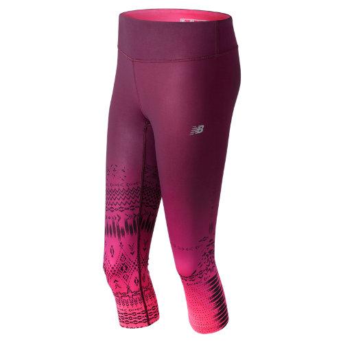 New Balance Fun Run Capri Girl's All Clothing - WP71240PCS