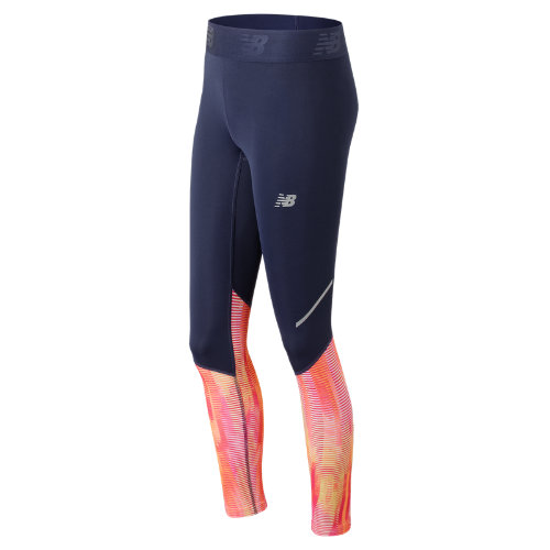 New Balance Accelerate Printed Tight Girl's Performance - WP73135VTA