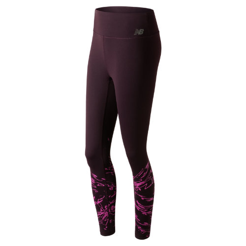 New Balance : Highrise Transform Printed Tight : Women's Performance : WP73144BAO