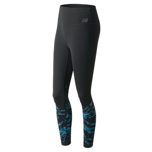 New Balance : Highrise Transform Printed Tight : Women's Performance : WP73144BPC