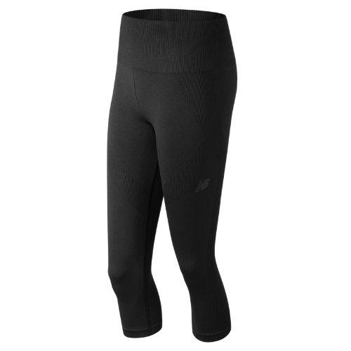 New Balance Stretch Capri Girl's Pants & Capris - WP81127BK