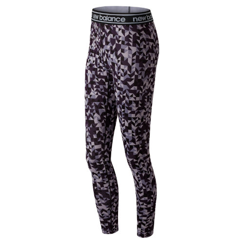 New Balance Printed Accelerate Tight Girl's Performance - WP81136EDB