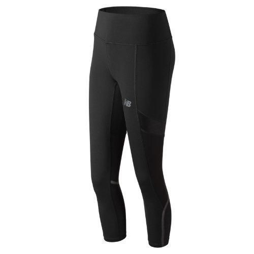 New Balance Q Speed Crop Girl's Pants & Capris - WP81232BK