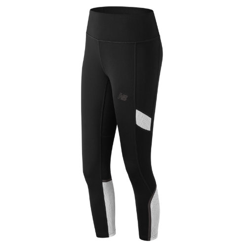New Balance Q Speed Crop Girl's Pants & Capris - WP81232BKW