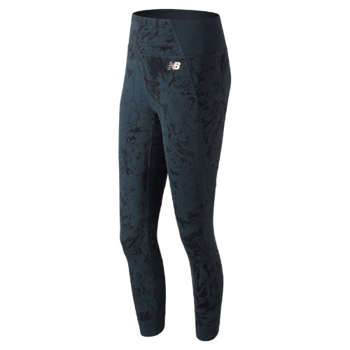 New Balance Printed Evolve Tight Girl's Performance - WP81458GXY