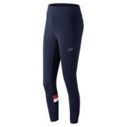 NB Athletics Legging , Pigment with Red