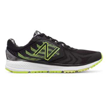 New Balance Vazee Pace v2 Graphic, Black with Lime Glo