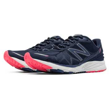 New Balance Vazee Pace Protect Pack, Navy with Pink