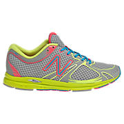 New Balance 1400, Grey with Green & Pink